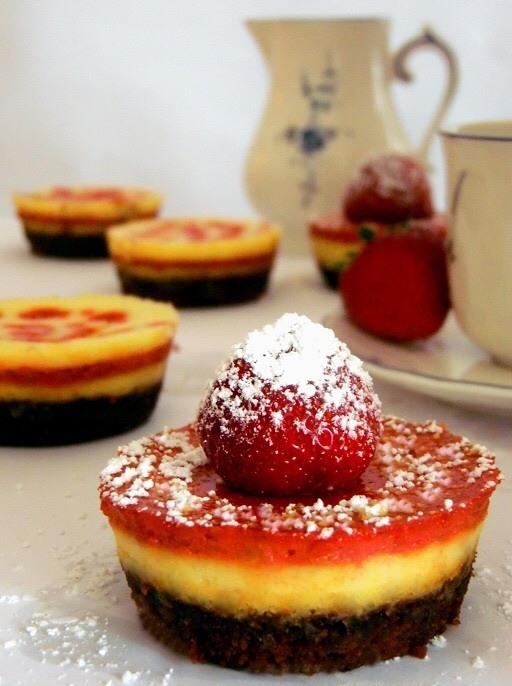 Rezept New York Cheesecake Muffin