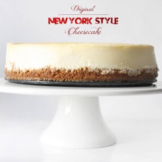 Rezept New York Style Cheesecake