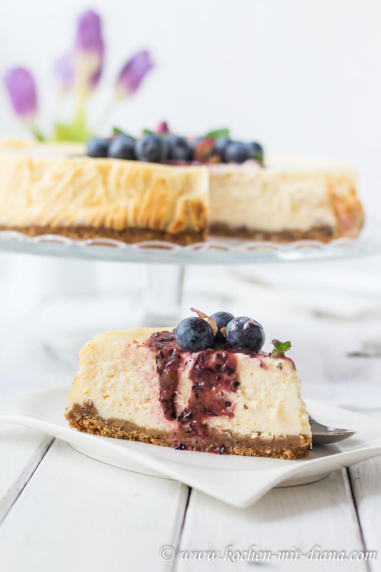 Rezept New Yorker Cheesecake