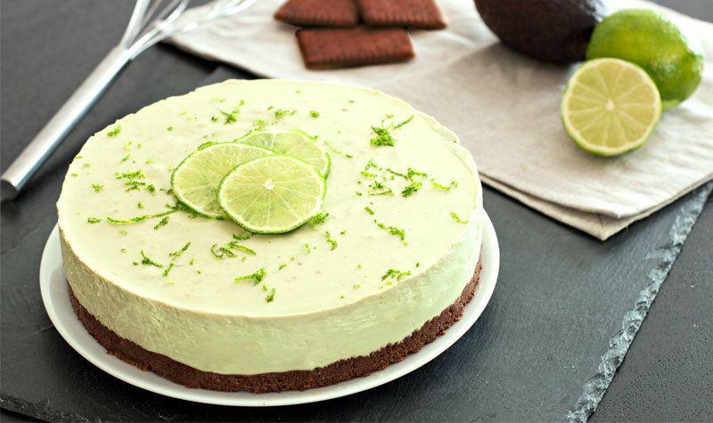 Rezept No Bake: Avocado-Limetten-Torte