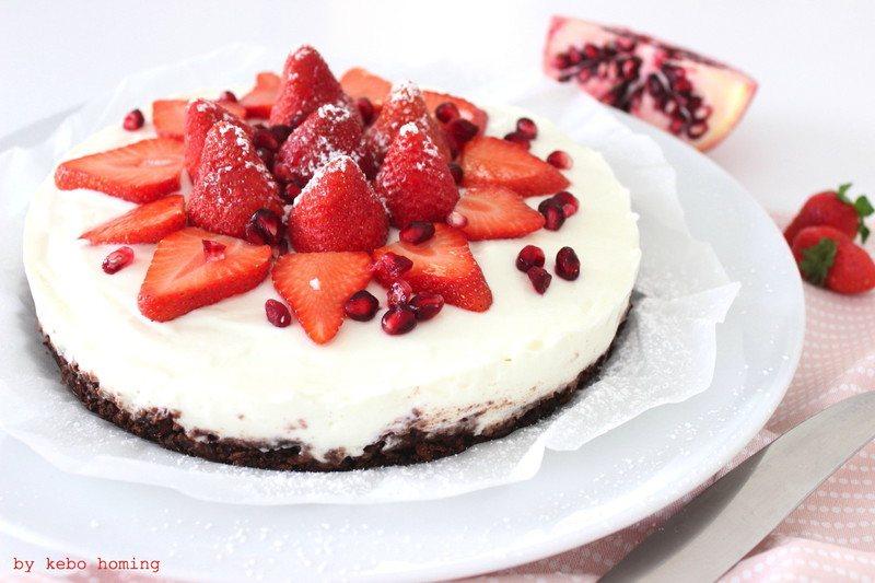 Rezept No Bake Cheesecake