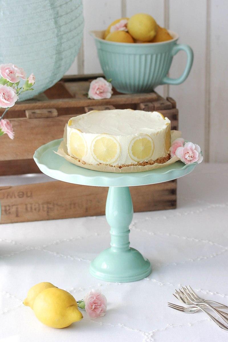 Rezept No bake Lemon Cheesecake
