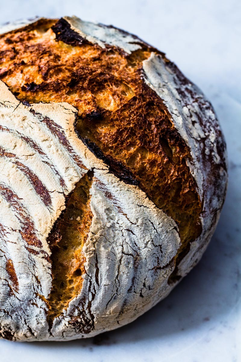 Rezept No Knead Bread - Brotbacken ganz ohne Kneten