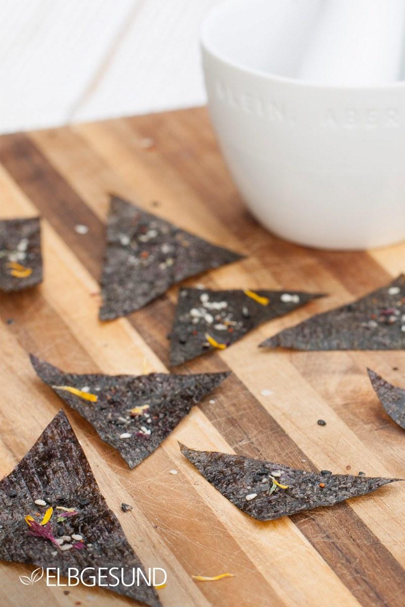 Rezept Nori Chips – low carb und lecker!