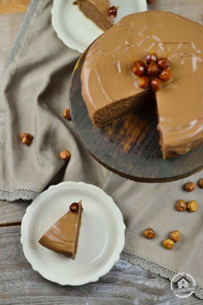 Rezept Nougat Cheesecake