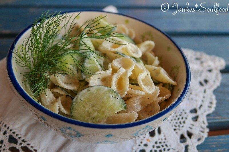 Rezept Nudel-Gurkensalat