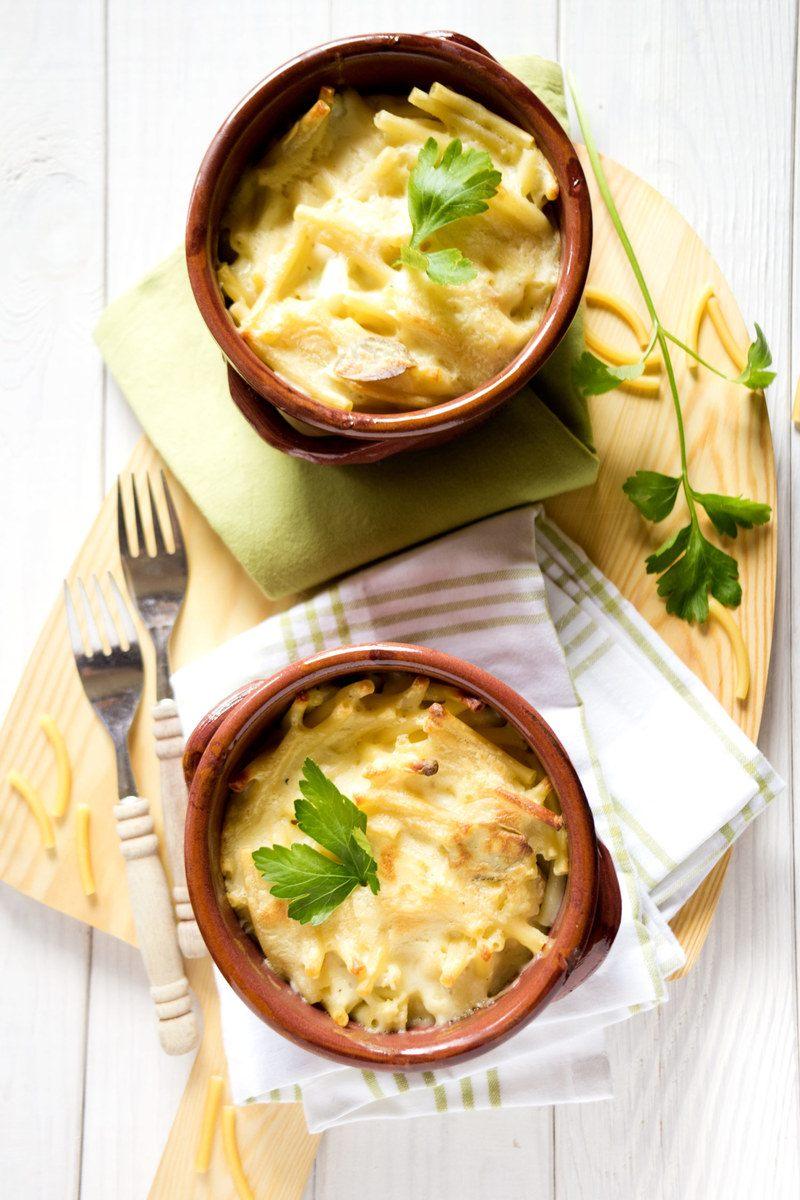 Rezept Nudelauflauf vegetarisch: Blumenkohl-Makkaroni-Auflauf