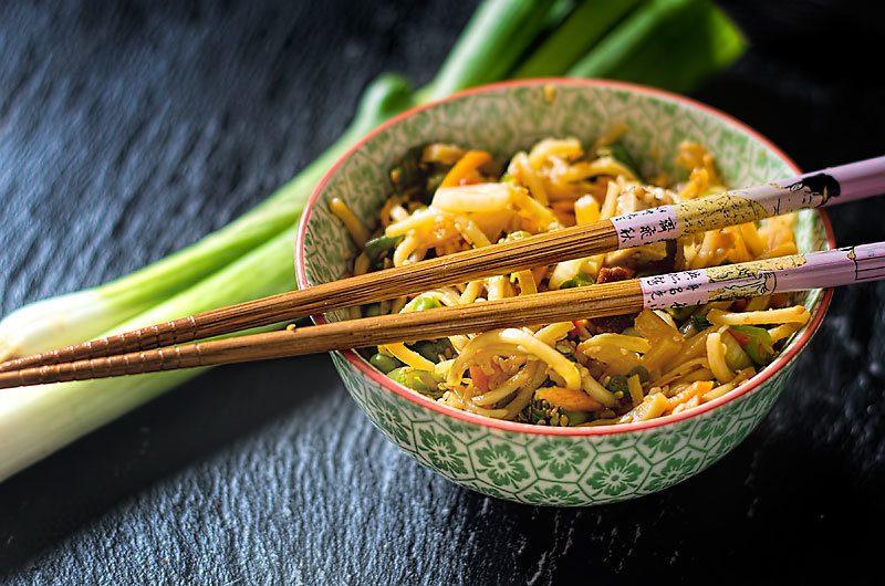Rezept Nudelsalat Asia-Style