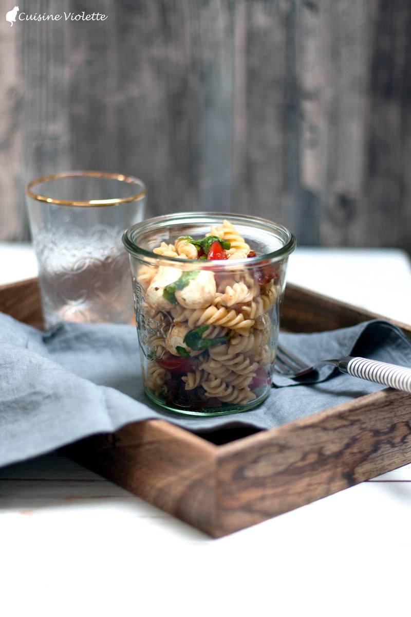 Rezept Nudelsalat mit Balsamicodressing