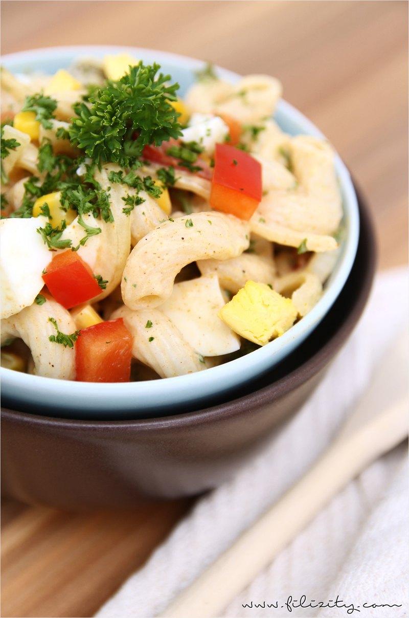 Rezept Nudelsalat mit Curry