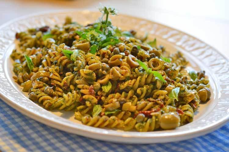 Rezept Nudelsalat mit Pesto