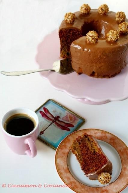 Rezept Nuss Espresso Gugel mit Eierlikör & Nougat - Swirl