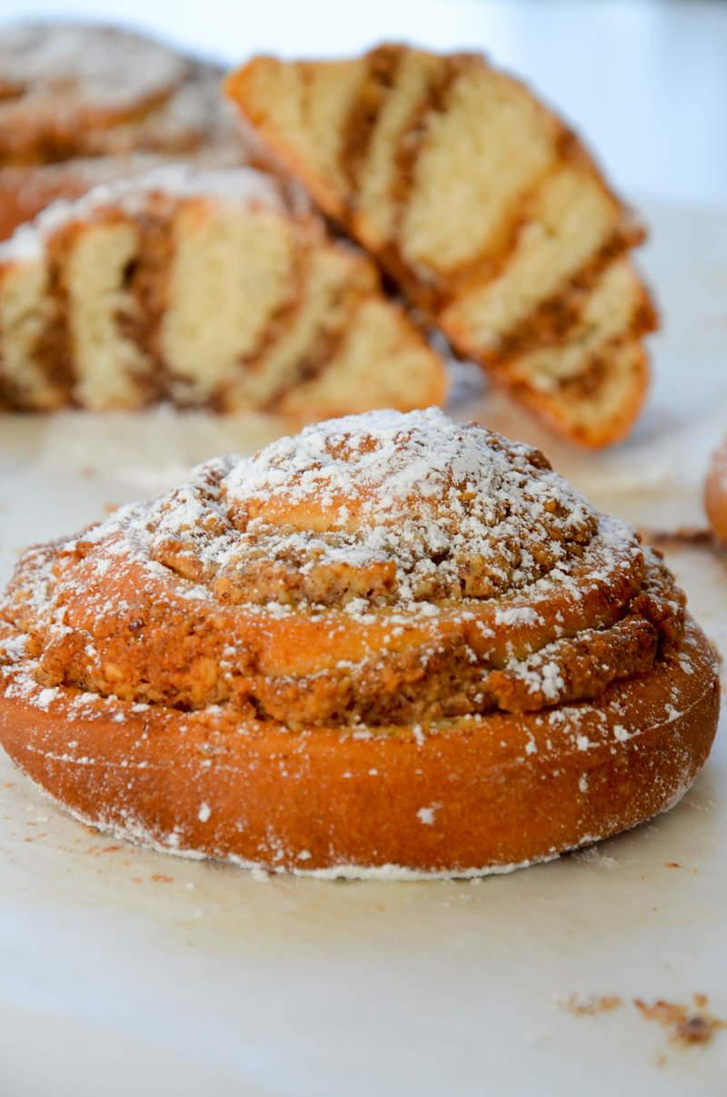 Rezept Nussschnecken mit Erdnussbutter