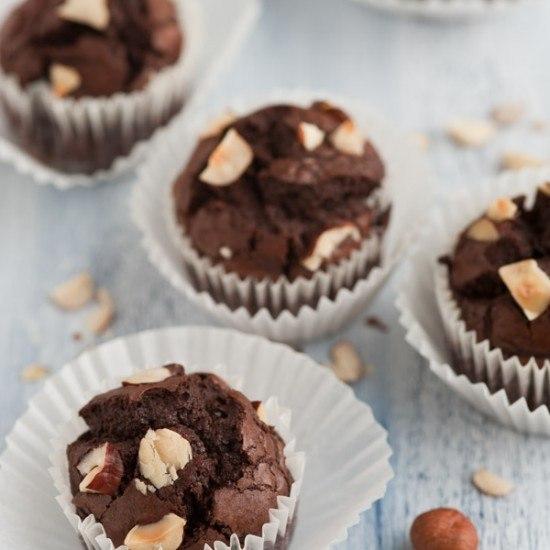 Rezept Nutella Brownies