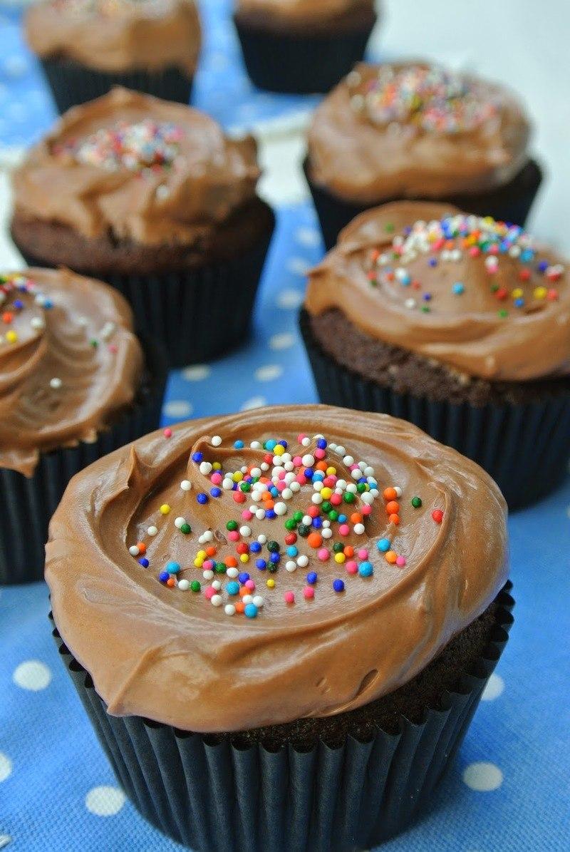 Rezept Nutella Cupcakes