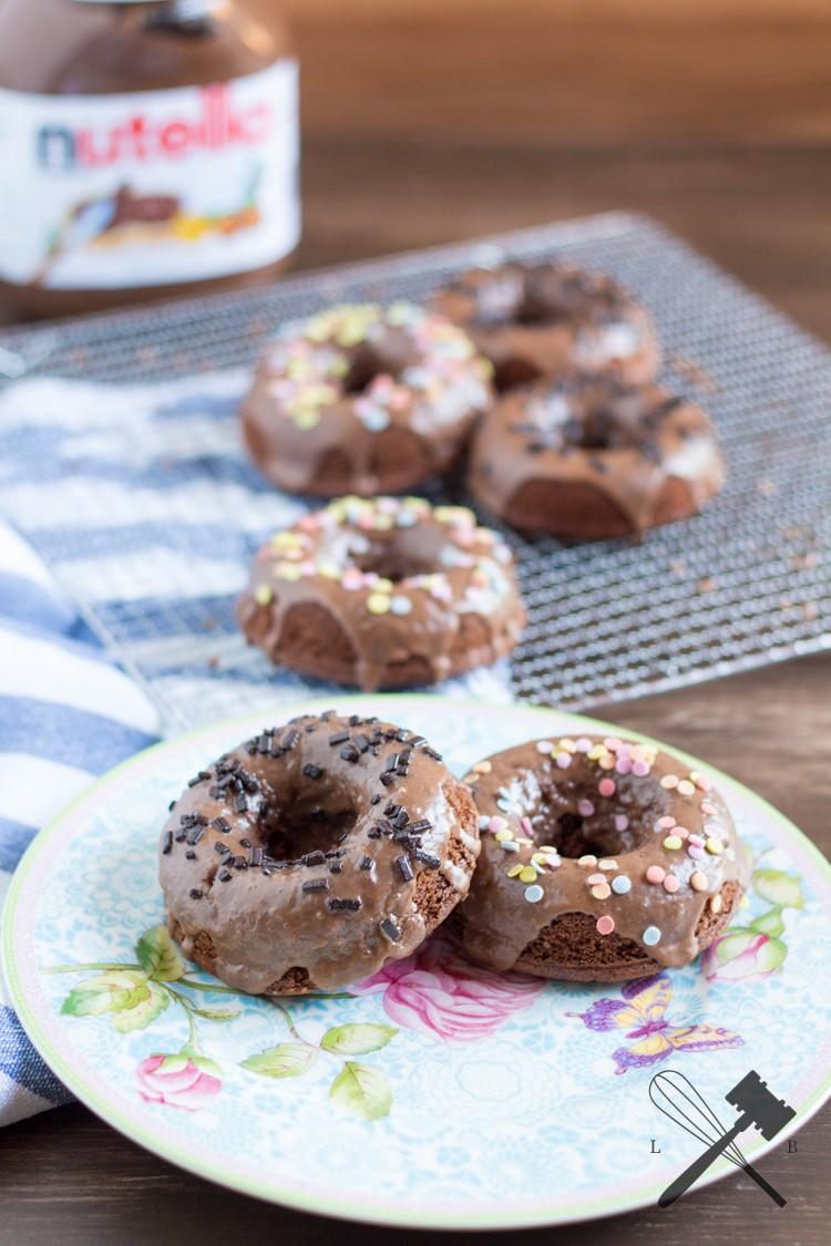 Rezept Nutella Donuts