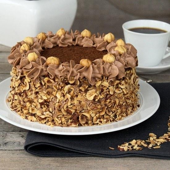 Rezept Nutella-Torte