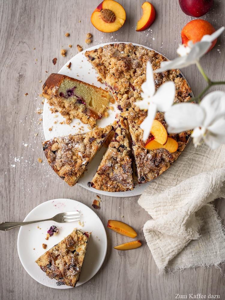 Rezept Obstkuchen mit Streusel