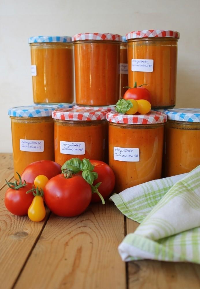 Rezept Ofengeröstete Tomatensauce