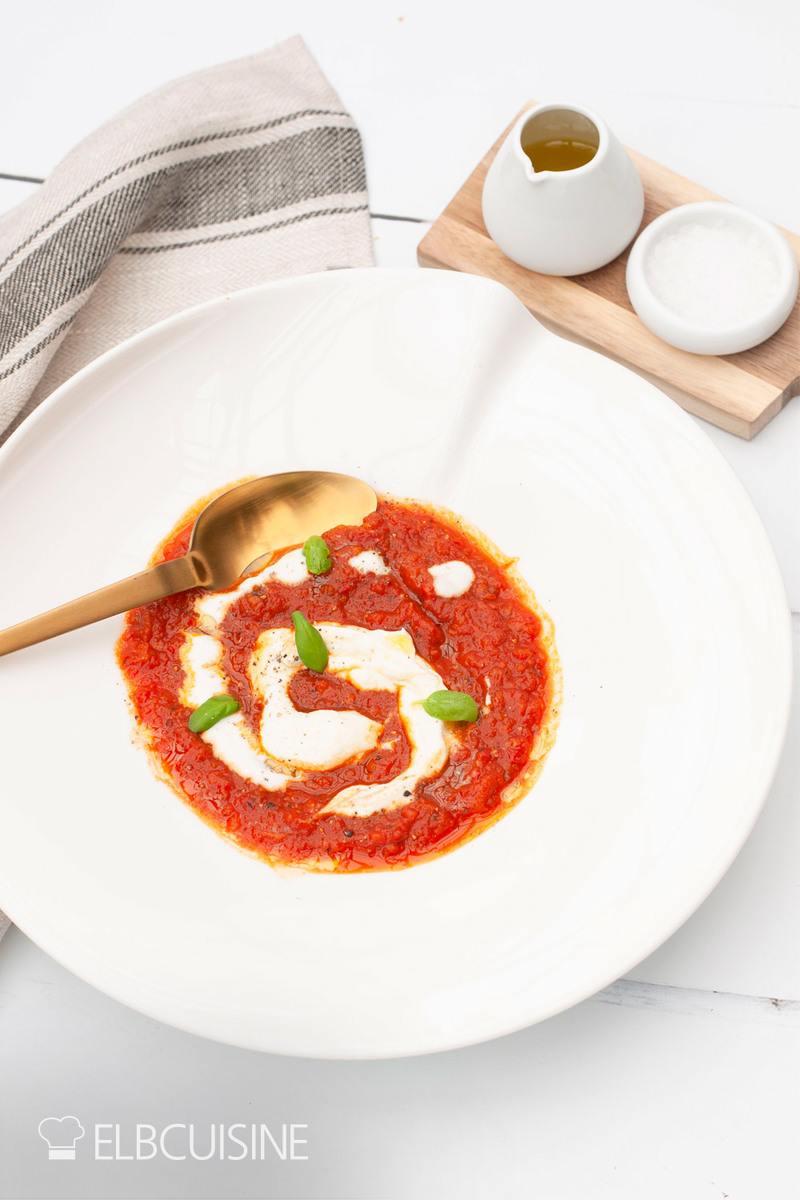 Rezept Ofensuppe – aus gerösteten Tomaten und Paprika, ein Traum!