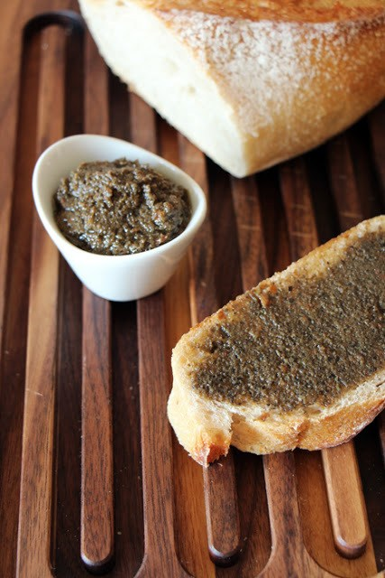Rezept Oliven-Tapenade