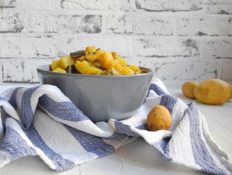 Rezept One Pot Melanzani Kartoffelcurry