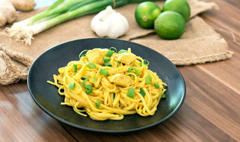 Rezept One-Pot-Pasta: Chicken-Curry