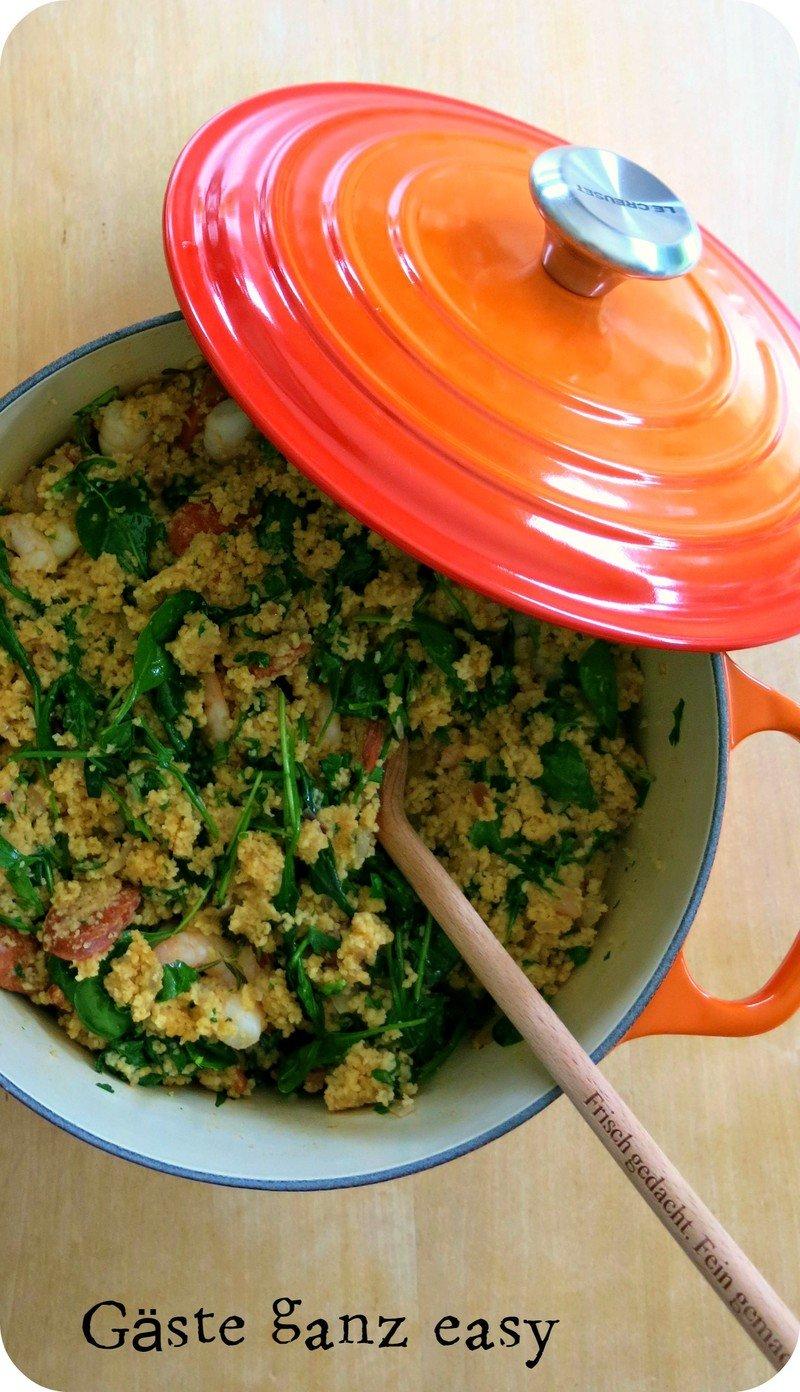 Rezept Onepot Surf´n´turf Couscous