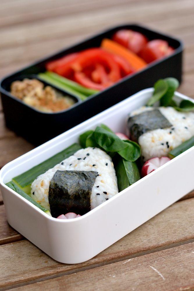 Rezept Onigiri mit Rührtofu-Füllung