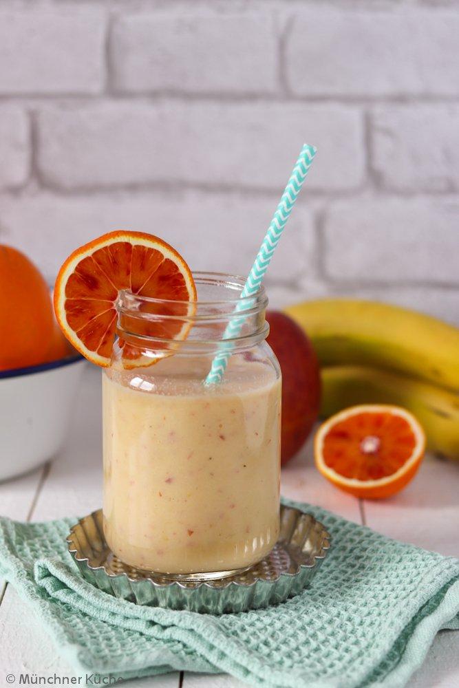 Rezept Orangen-Bananen-Apfel-Smoothie