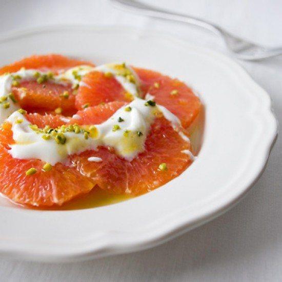 Rezept Orangen-Carpaccio mit Nelken-Honig