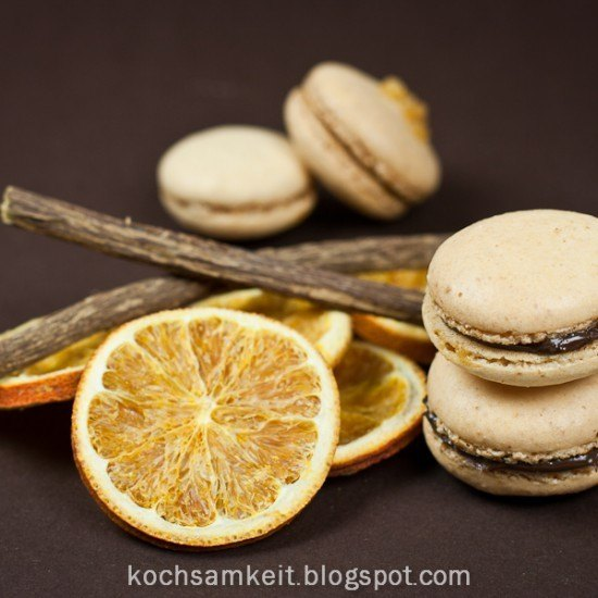 Rezept Orangen Macarons