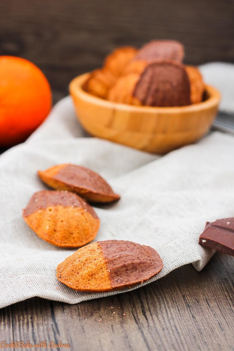 Rezept Orangen-Mandel-Madeleines