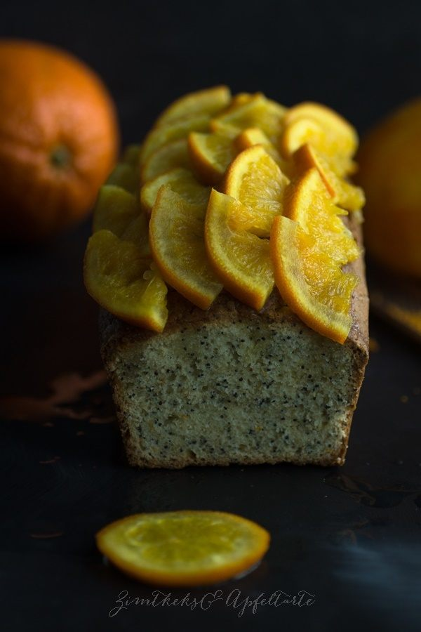 Rezept Orangen-Mohn-Kuchen mit Grand Marnier