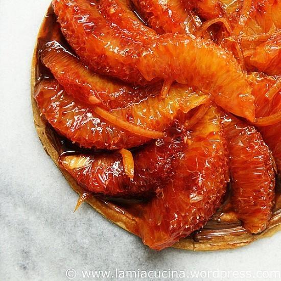 Rezept Orangen Tartelett