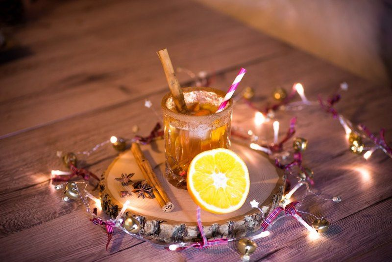Rezept Orangen-Zimt Cocktail