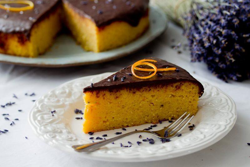 Rezept Orangenkuchen mit Lavendel