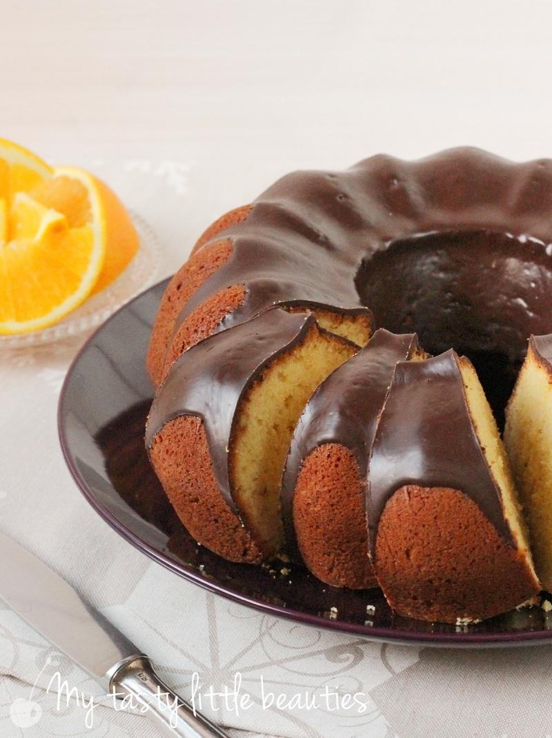 Rezept Orangenkuchen mit Marzipan