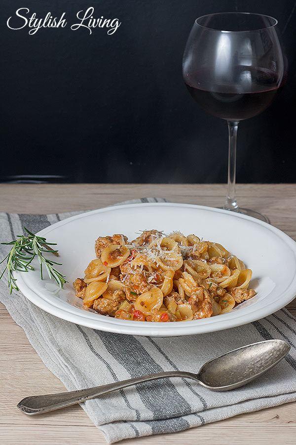Rezept Orecchiette mit Salsiccia