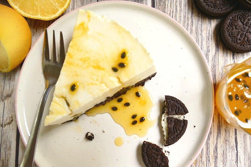 Rezept Oreo-Cheesecake mit Maracuja (No Bake Cake)