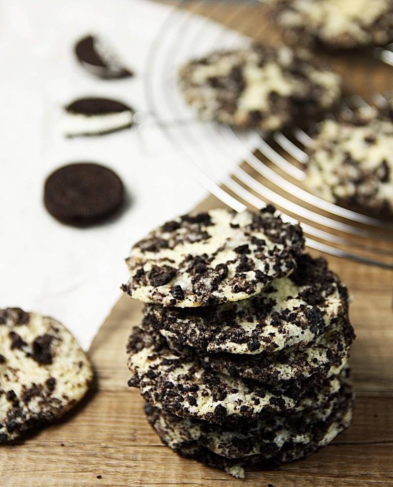 Rezept Oreo Creamcheese Cookies