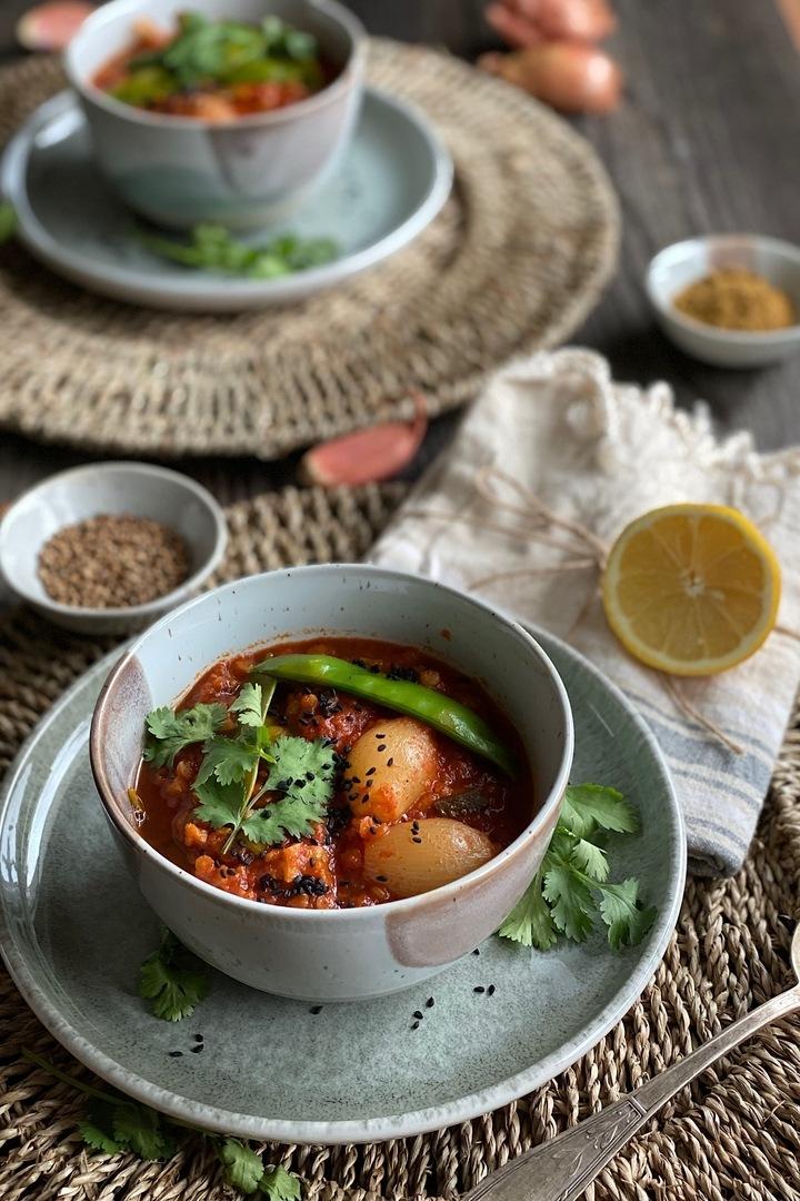 Rezept Orientalische Linsensuppe mit Ras el Hanout & Kreuzkümmel