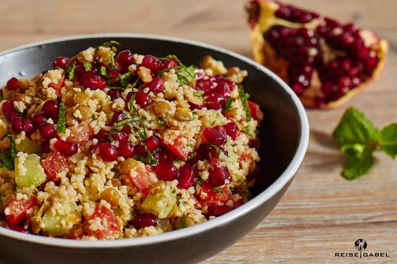 Rezept Orientalischer Couscous Salat