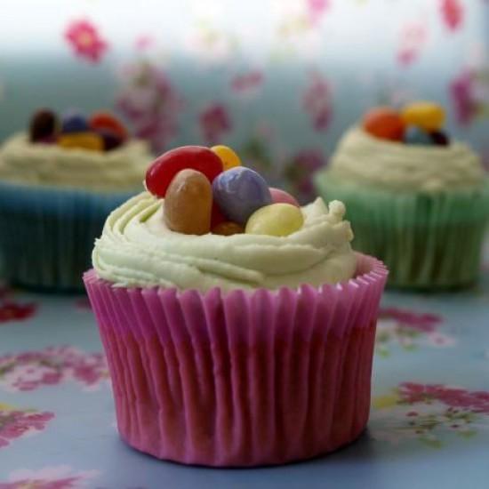 Rezept Osternest-Cupcakes