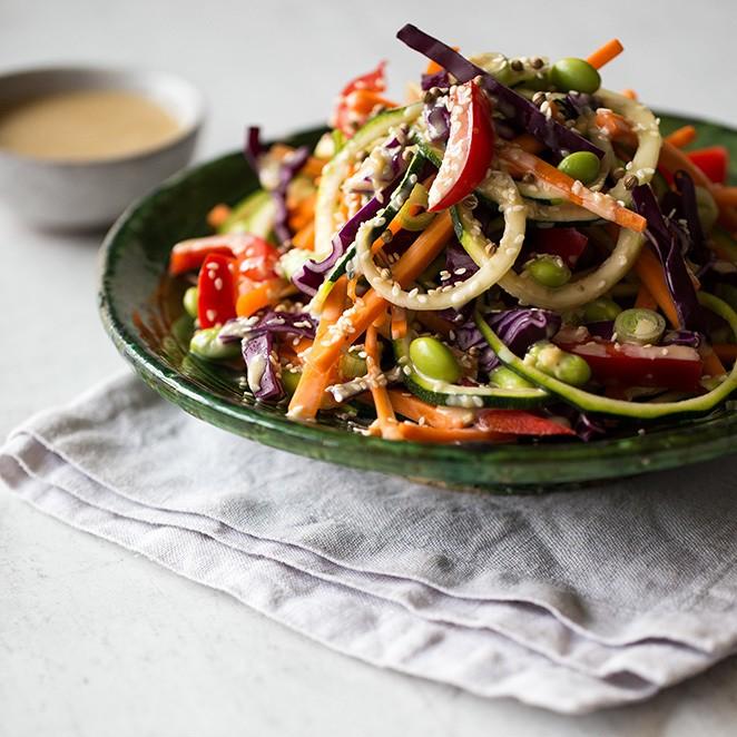 Rezept Pad-Thai-Salat