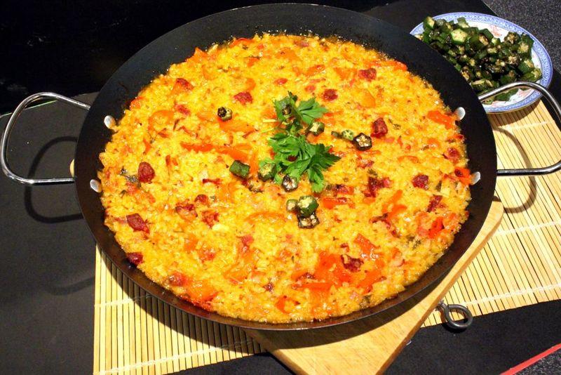 Rezept Paella con Chorizo