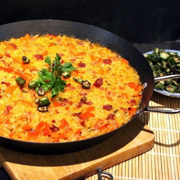 Rezept Paella mit Chorizo