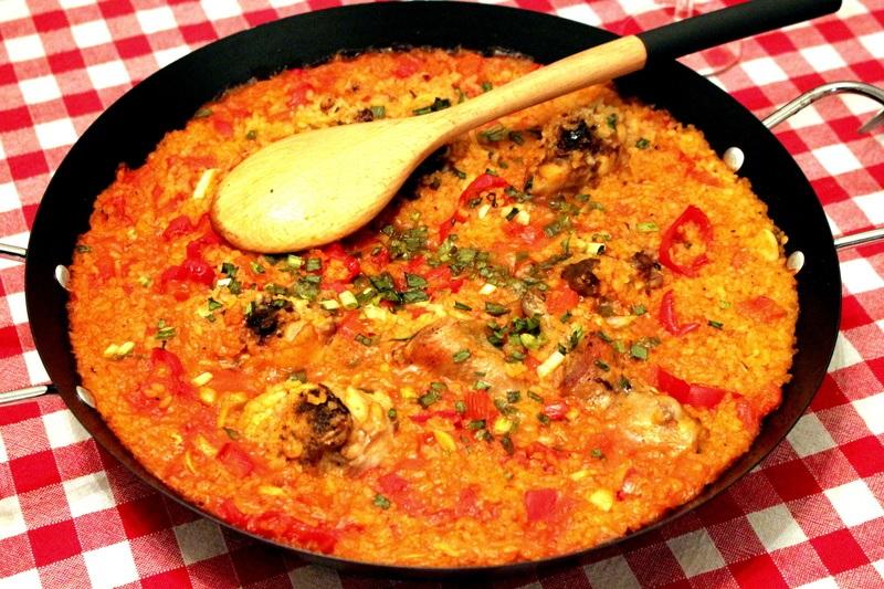 Rezept Paella mit HUhn