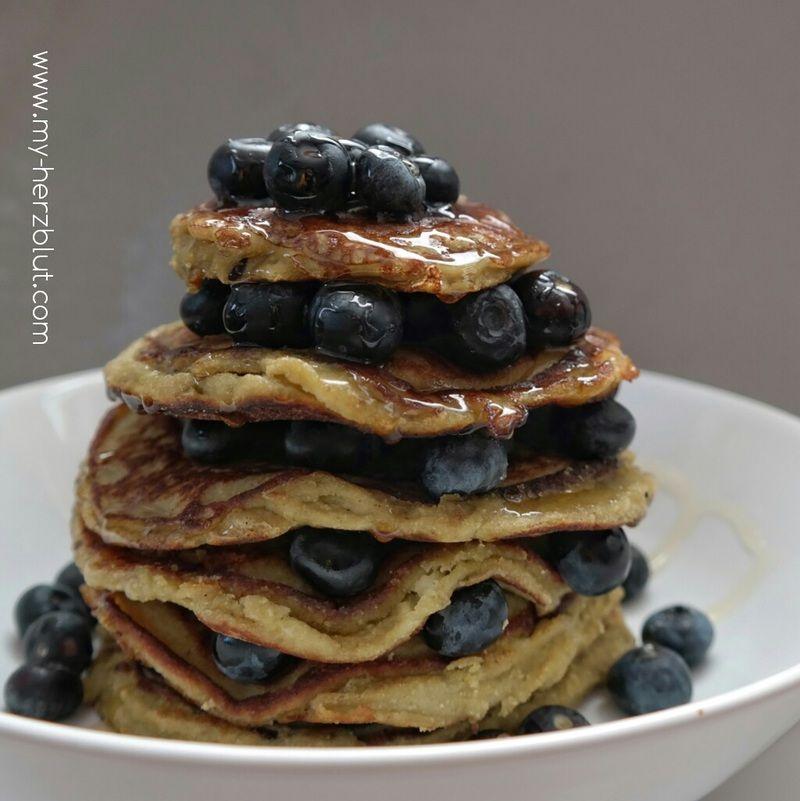 Rezept Pancakes mit Kokosmehl