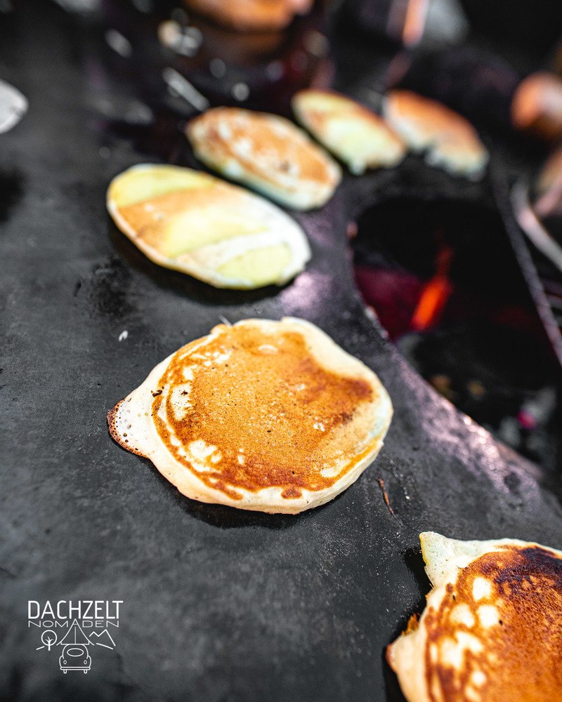 Rezept Pancakes von der Feuertonne